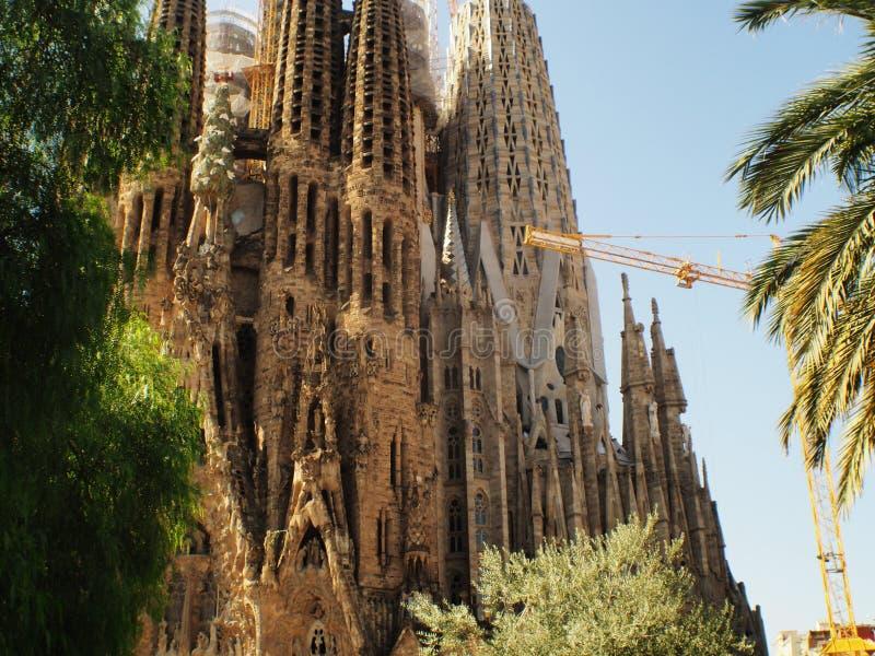 Cattedrale Barcellona, Catalunya del NIO Gaudi del ³ di Antà immagine stock