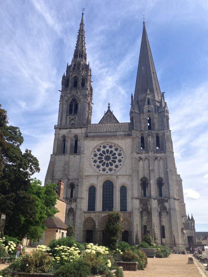 Cattedrale Chartres fotografia stock