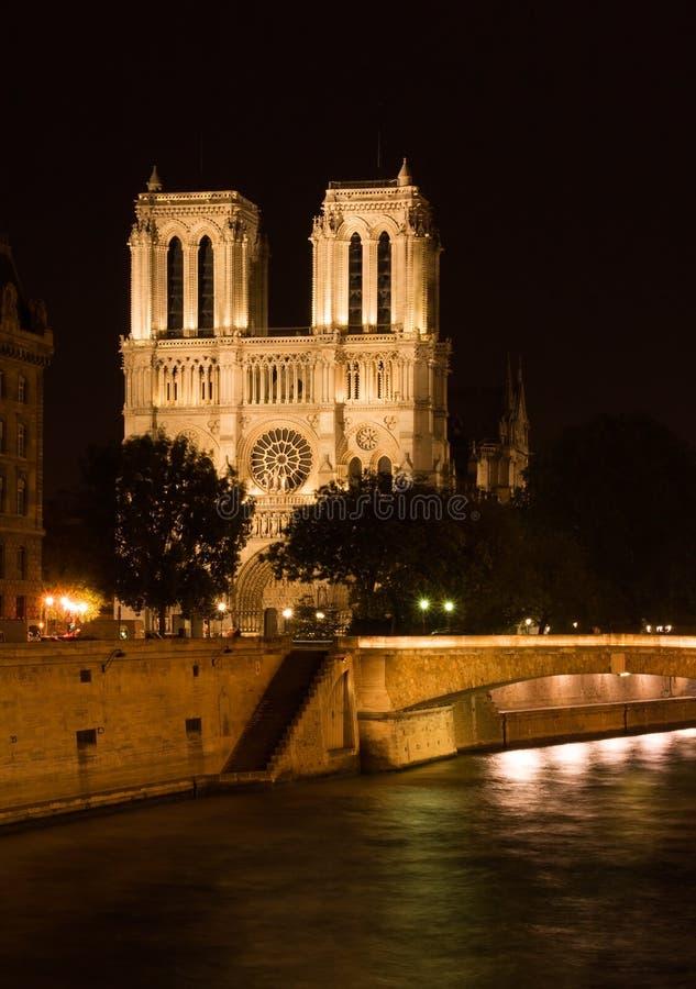 Cattedrale del Notre Dame fotografie stock