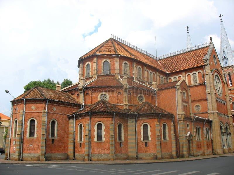 Cattedrale del Notre Dame in Ho Chi Minh fotografia stock