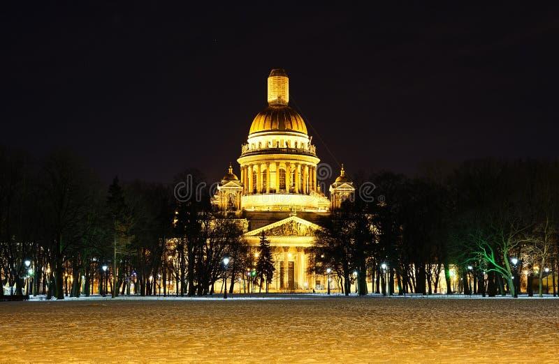 Cattedrale del ` s della st Isaac fotografia stock libera da diritti