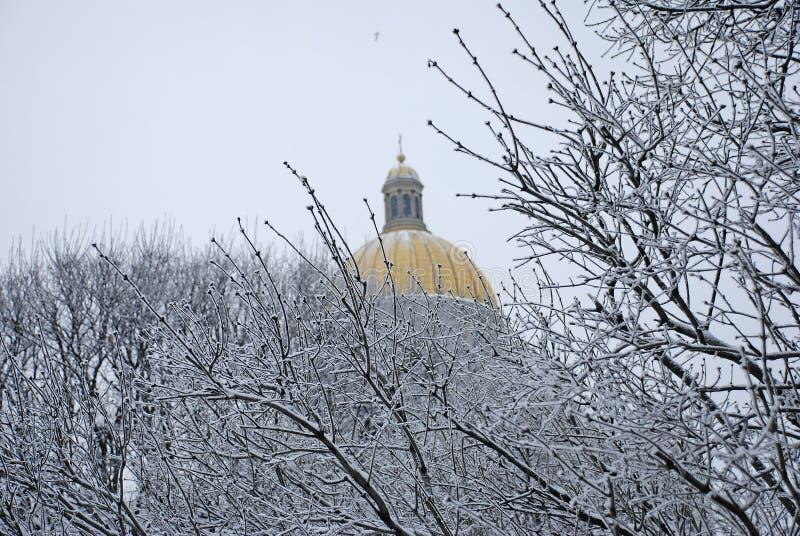 Cattedrale del ` s della st Isaac in San Pietroburgo fotografia stock