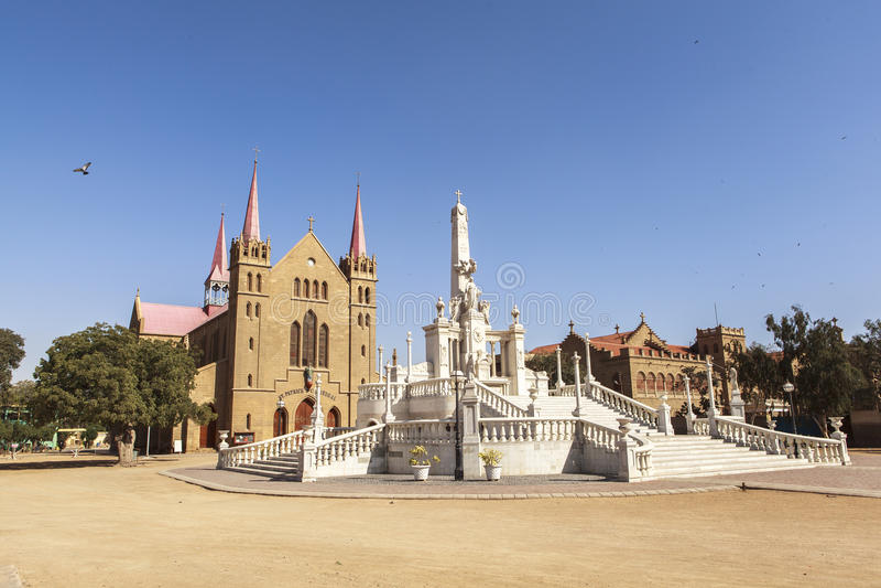 Cattedrale del ` s di San Patrizio, Karachi, Pakistan fotografia stock libera da diritti