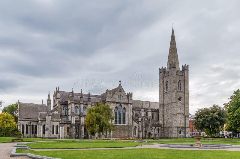 Cattedrale del ` s di St Patrick, Dublino, Irlanda fotografie stock libere da diritti