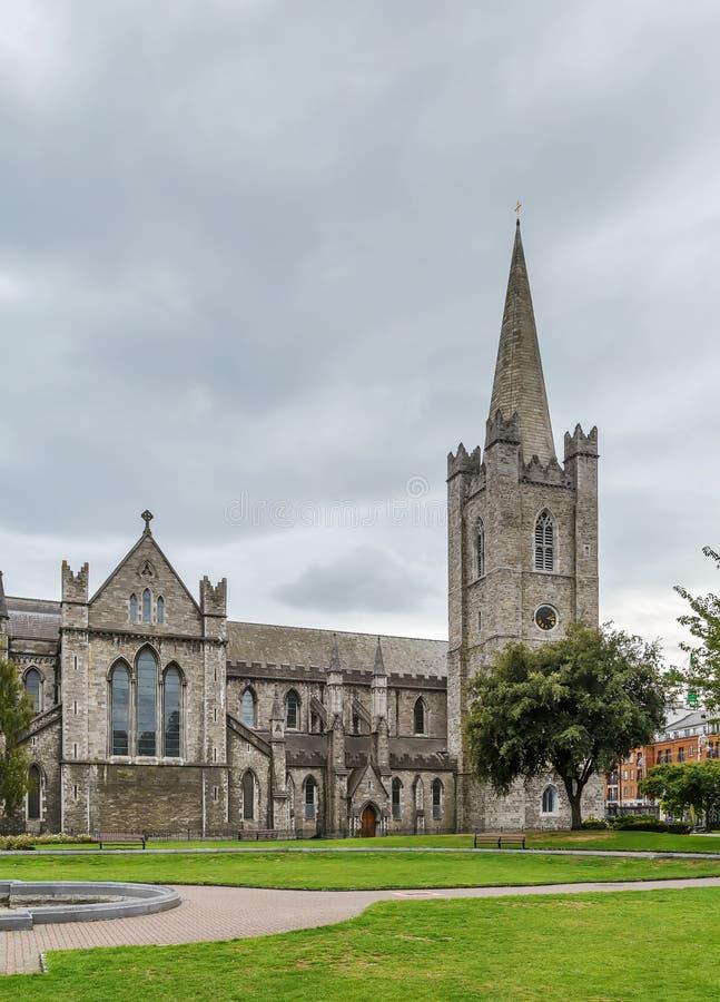 Cattedrale del ` s di St Patrick, Dublino, Irlanda immagini stock