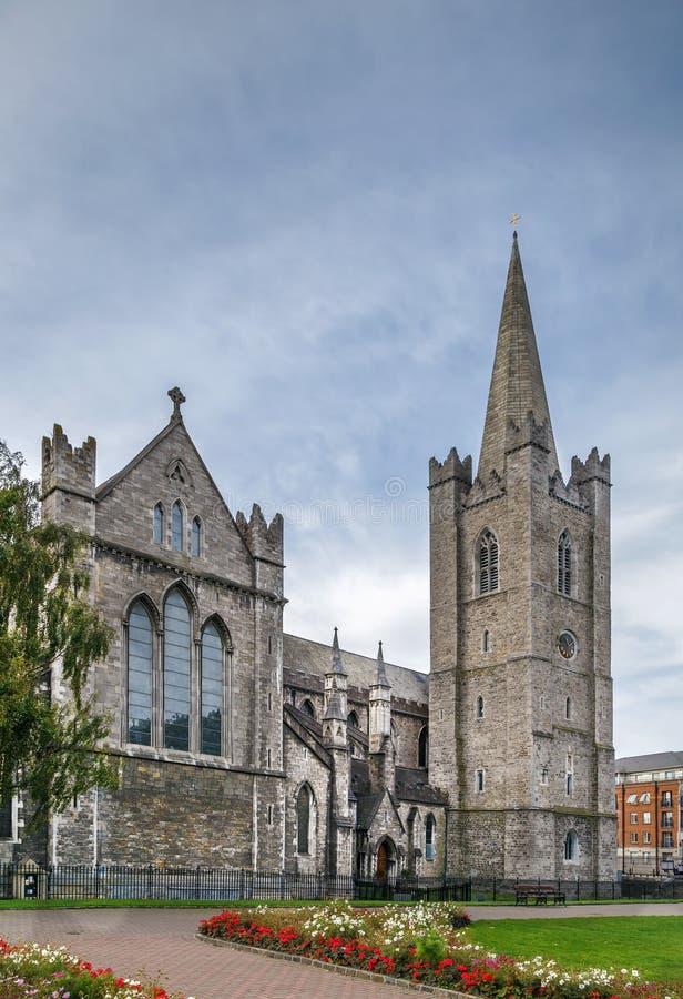 Cattedrale del ` s di St Patrick, Dublino, Irlanda immagine stock