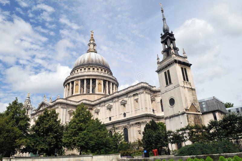 Cattedrale del ` s di St Paul a Londra fotografia stock