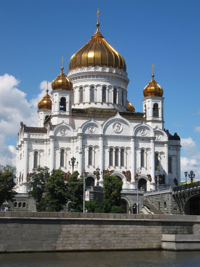 Cattedrale del salvatore di Gesù Cristo, Mosca immagini stock libere da diritti