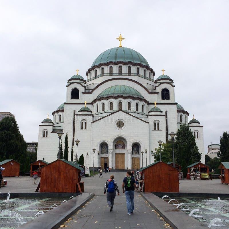 Cattedrale del san Sava, Belgrado fotografia stock