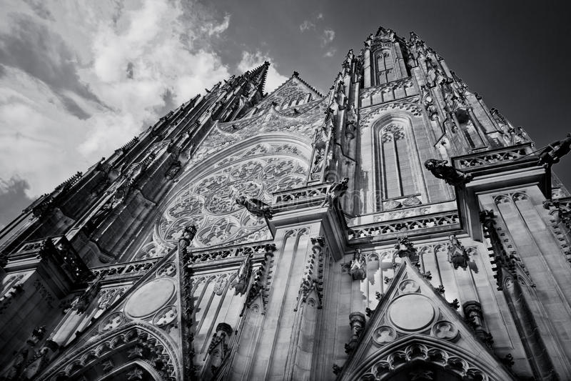 Cattedrale del Vitus del san fotografie stock libere da diritti