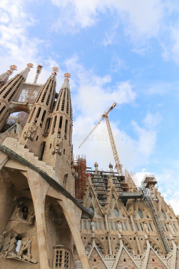 Cattedrale della cattedrale di Barcellona - Spagna fotografia stock