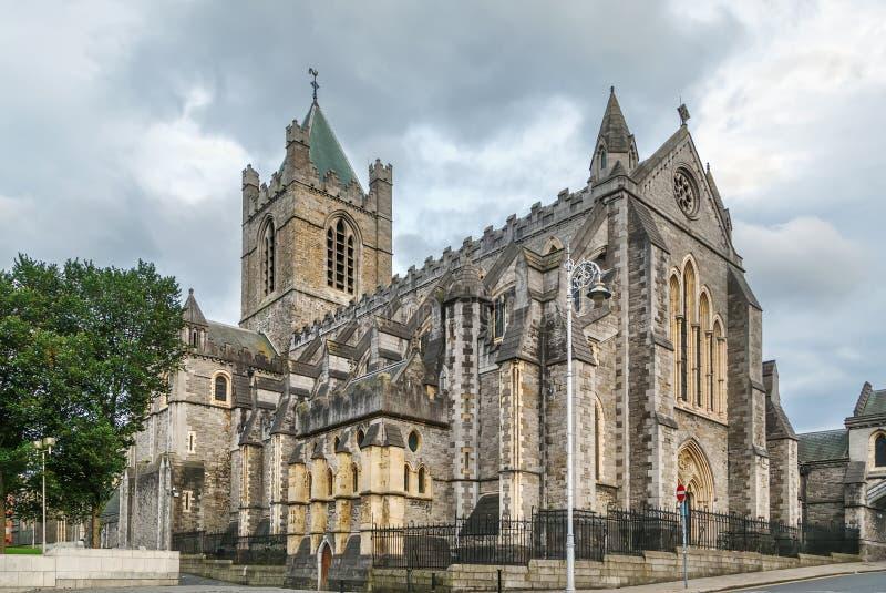 Cattedrale della chiesa di Cristo, Dublino, Irlanda fotografia stock libera da diritti