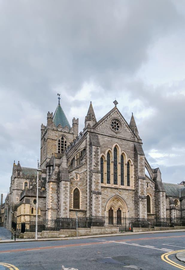 Cattedrale della chiesa di Cristo, Dublino, Irlanda fotografia stock