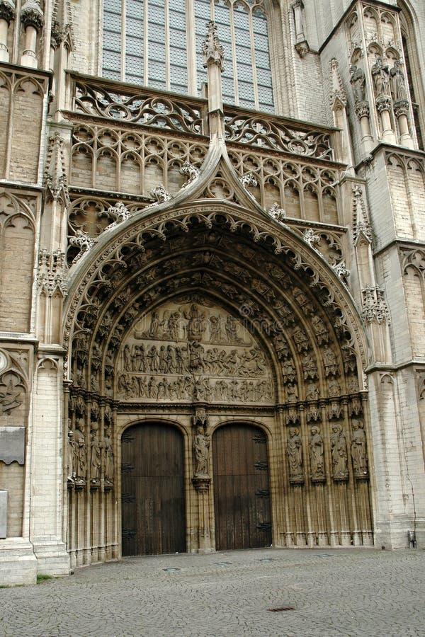 Cattedrale della nostra signora a Anversa immagini stock