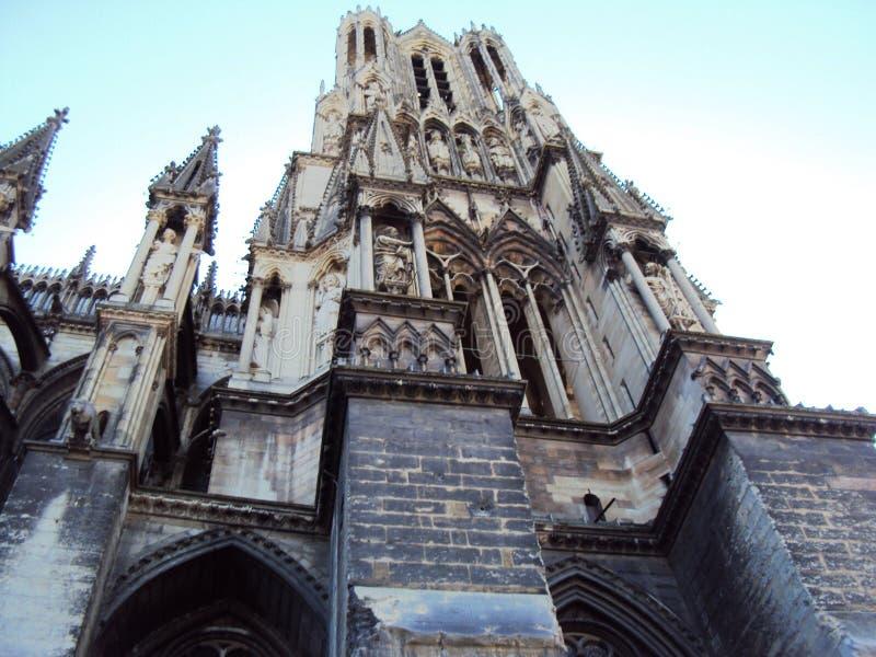 Cattedrale della nostra signora di Reims fotografie stock
