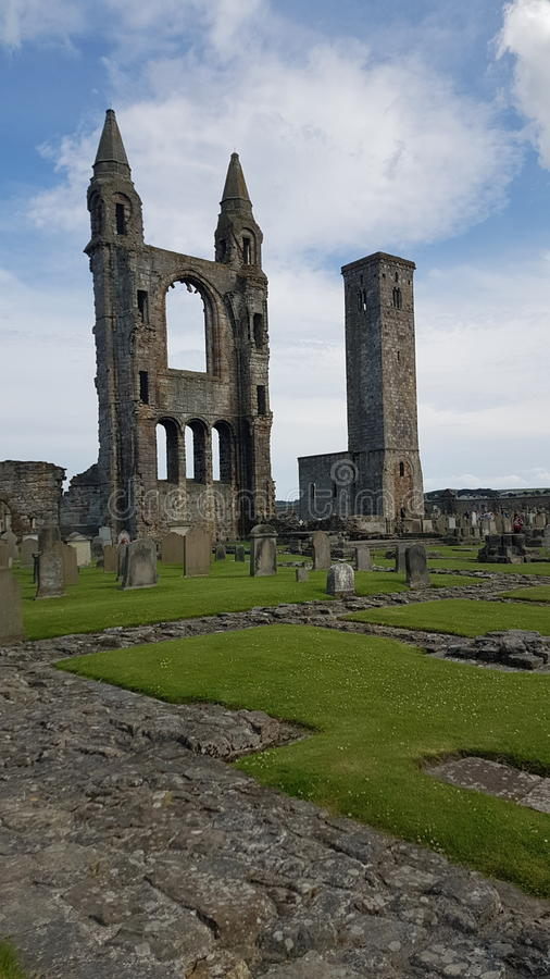 Cattedrale della st Andrews fotografie stock