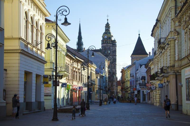 Cattedrale della st Elisabeth a Kosice immagine stock