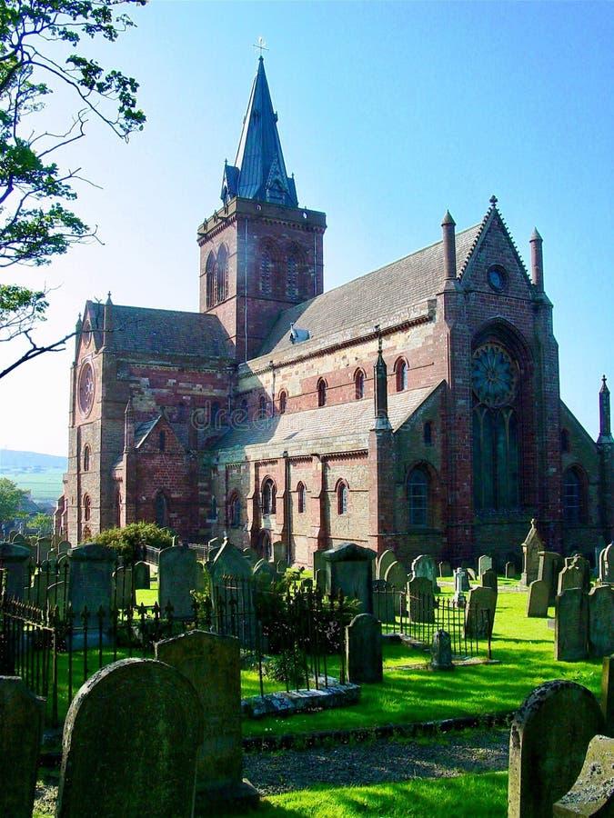 Cattedrale della st Magnus immagine stock libera da diritti