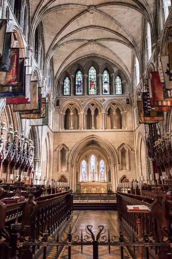 Cattedrale della st Patricks a Dublino, Irlanda fotografia stock libera da diritti