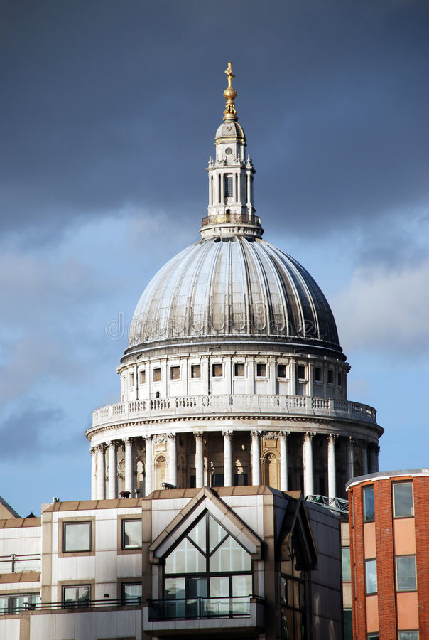 Cattedrale della st Paul \ 'di s fotografia stock