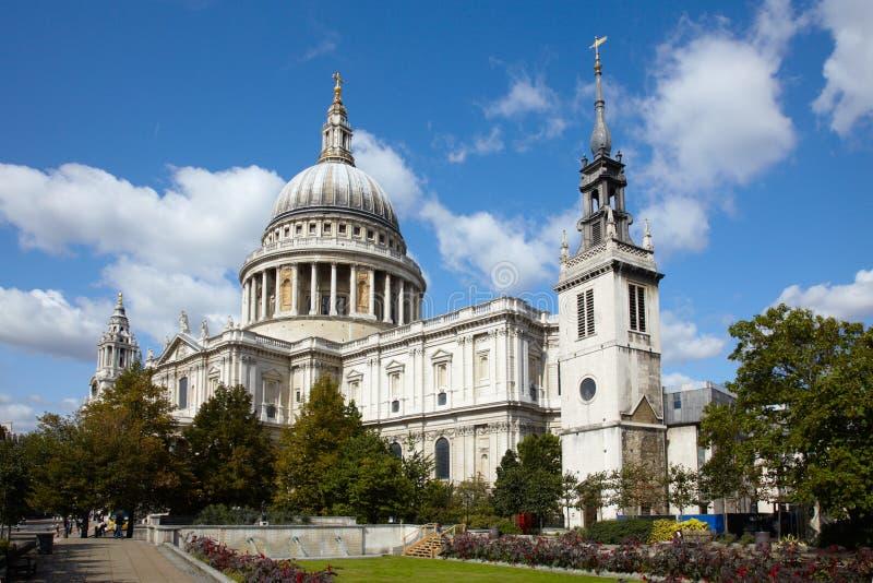 Cattedrale della st Paul a Londra fotografie stock
