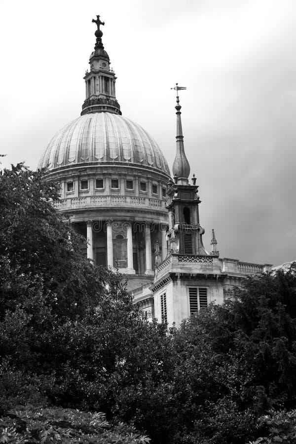 Cattedrale della st Pauls a Londra fotografia stock libera da diritti