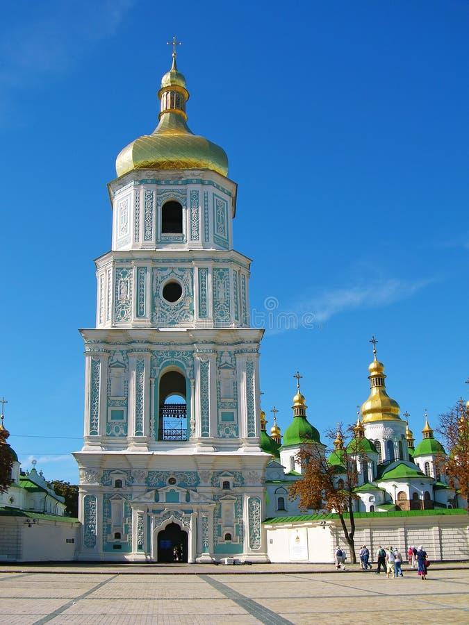 Cattedrale della st Sophia, Kiev, Ucraina fotografia stock libera da diritti
