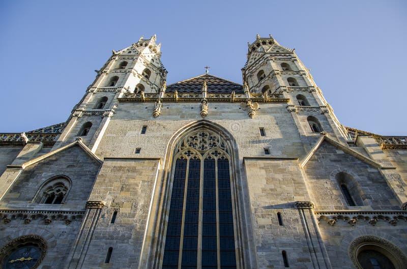 Cattedrale della st Stephen a Vienna immagini stock