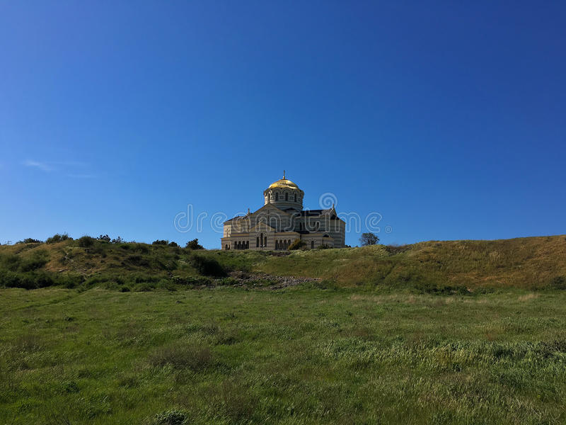 Cattedrale della st Vladimir fotografie stock libere da diritti