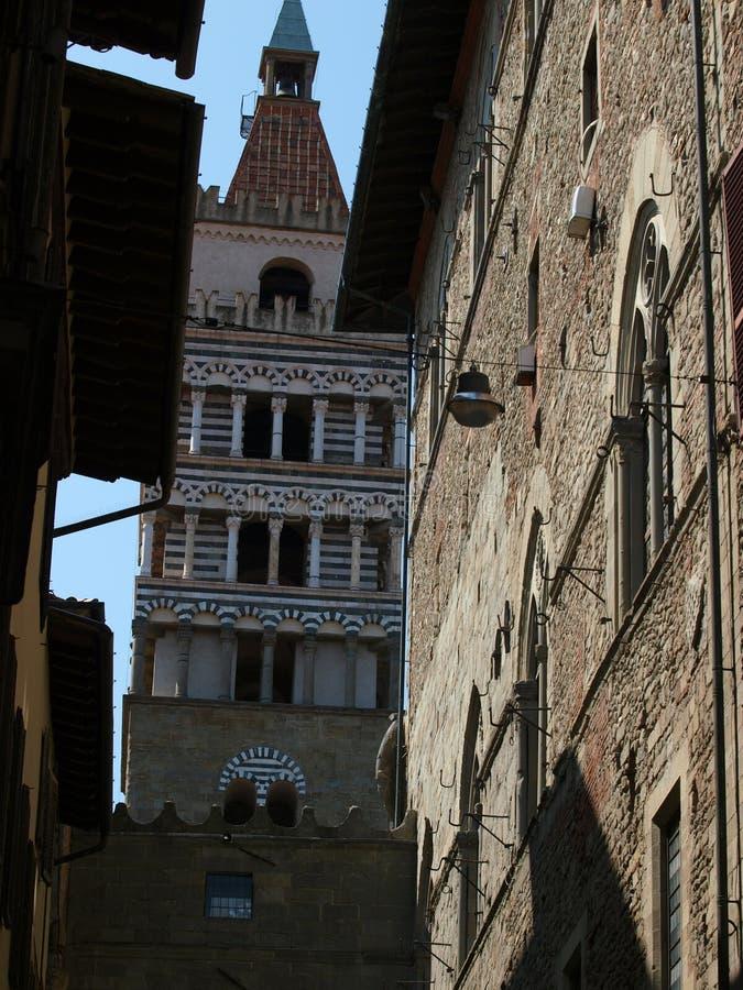 Cattedrale della st Zeno - Pistoia fotografie stock libere da diritti