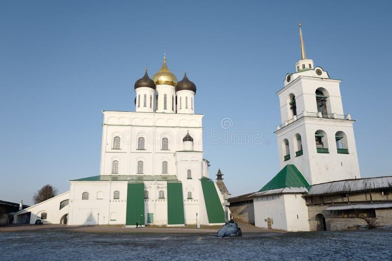 Cattedrale 1682-1699 della trinità immagine stock