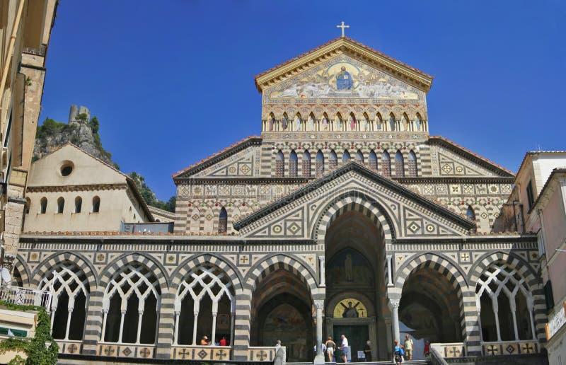 Cattedrale di Amalfi immagini stock libere da diritti