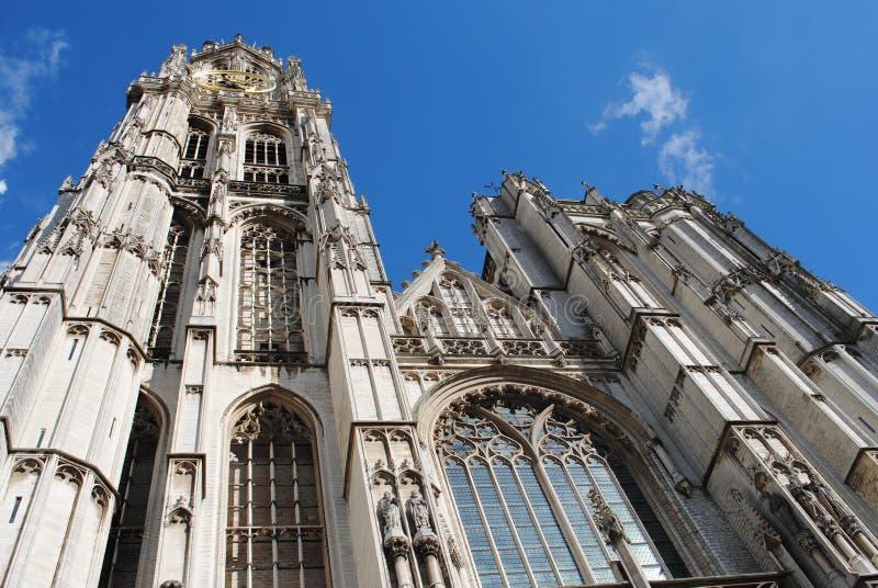 Cattedrale di Anversa immagini stock libere da diritti
