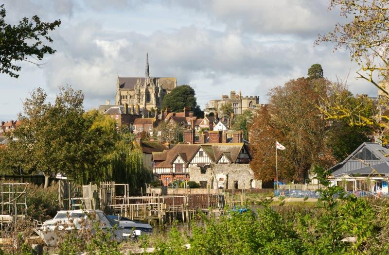 Cattedrale di Arundel, Sussex, Inghilterra immagine stock