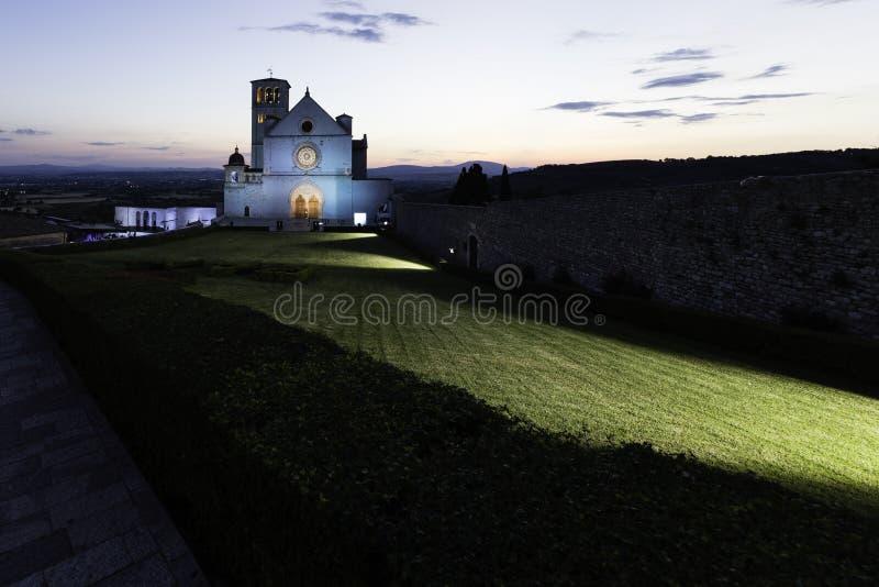 Cattedrale di Assisi fotografia stock libera da diritti