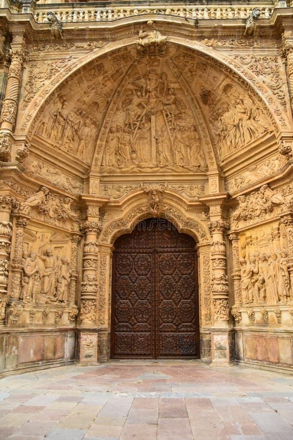 Cattedrale di astorga - Leon immagini stock