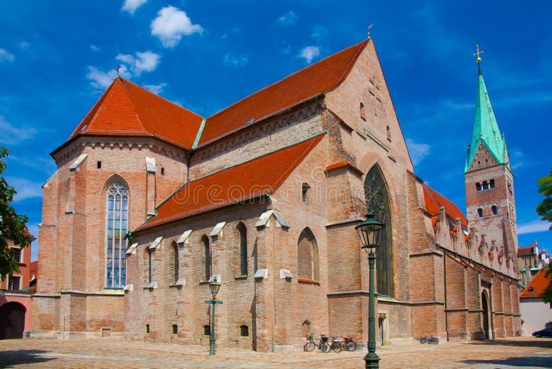 Cattedrale di Augusta immagini stock libere da diritti
