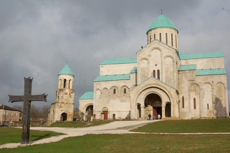 Cattedrale di Bagrati in Kutaisi, Georgia fotografia stock libera da diritti