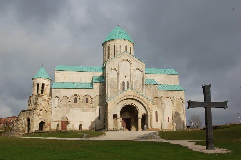 Cattedrale di Bagrati in Kutaisi, Georgia immagine stock