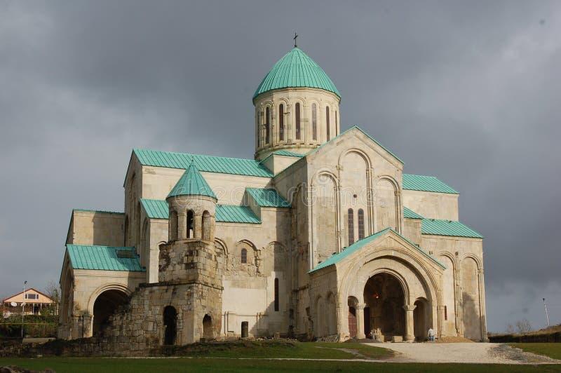 Cattedrale di Bagrati in Kutaisi, Georgia fotografia stock
