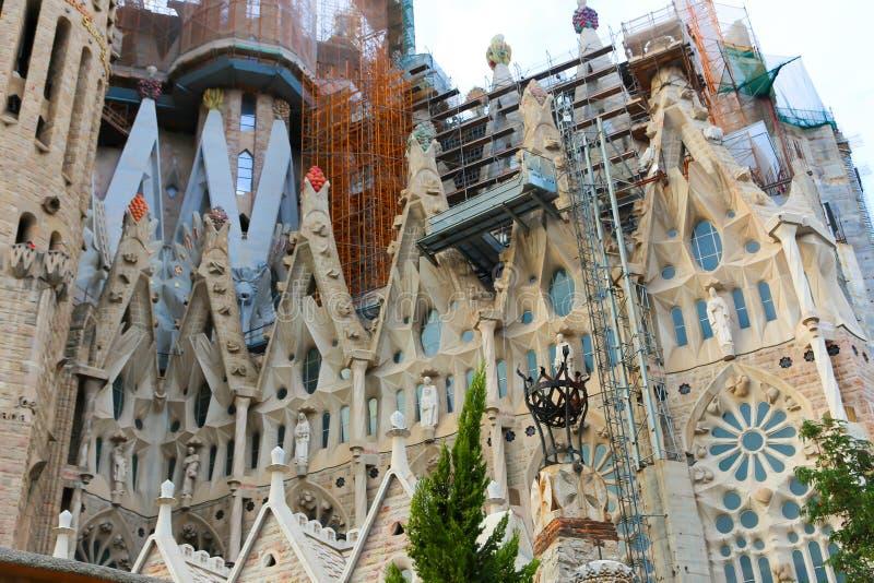 Cattedrale di Barcellona - Spagna fotografie stock