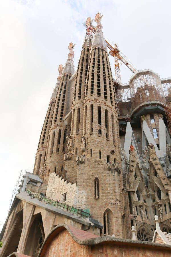 Cattedrale di Barcellona - Spagna immagini stock