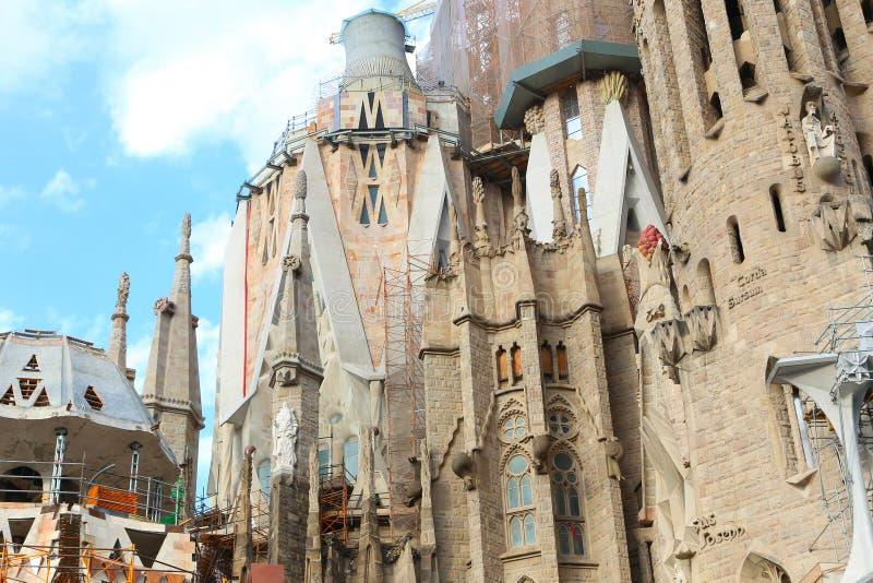 Cattedrale di Barcellona - Spagna fotografia stock