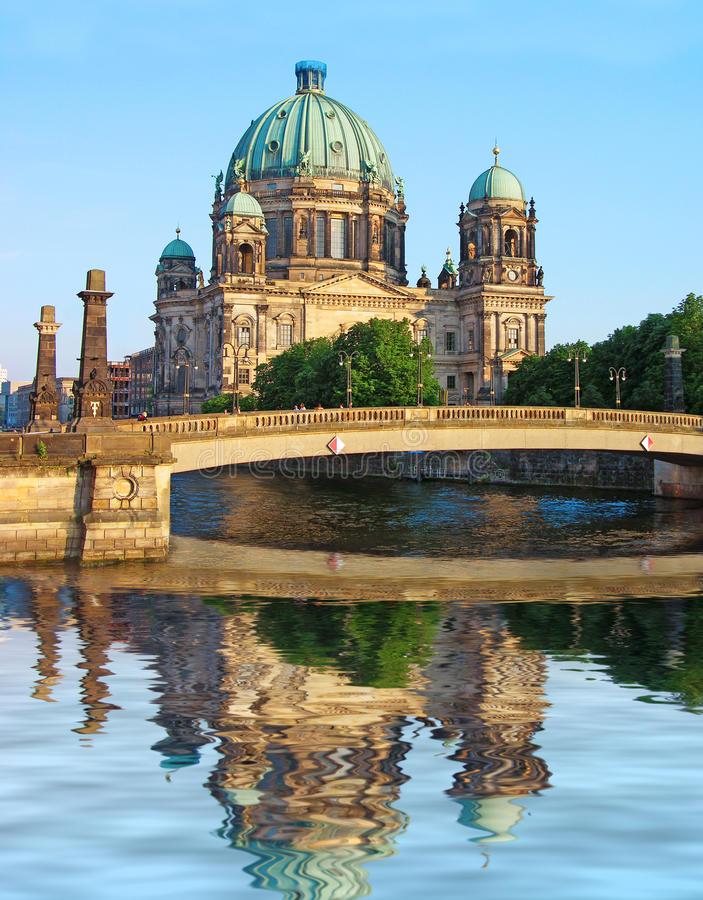 Cattedrale di Berlino (DOM) del berlinese, Germania immagine stock libera da diritti