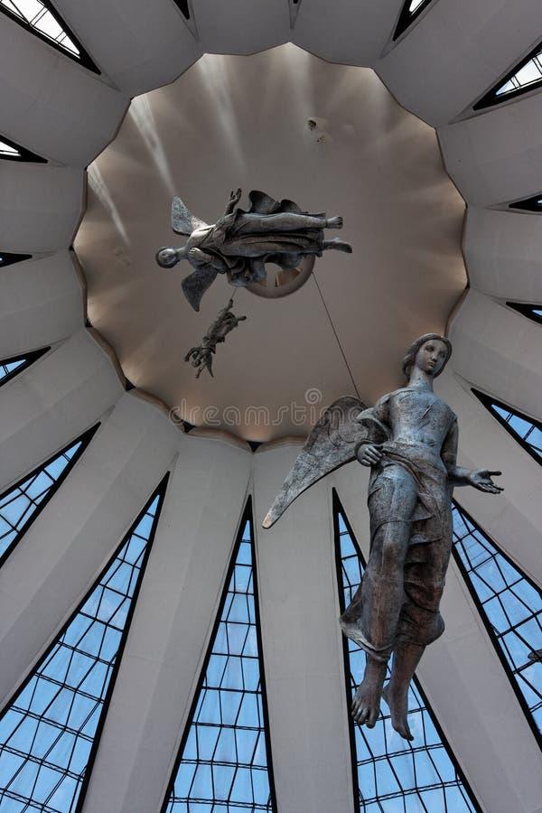 Cattedrale di Brasilia fotografia stock
