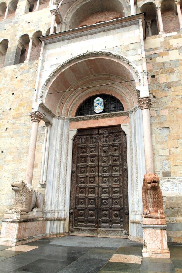 """Cattedrale di Castell """"Arquato, Italia immagini stock"""