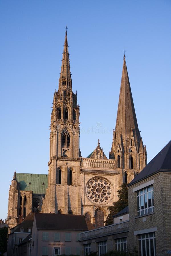 Cattedrale di Chartres fotografia stock libera da diritti