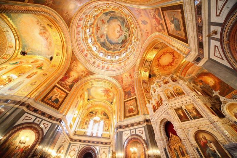 Cattedrale di Christ il salvatore a Mosca. fotografie stock
