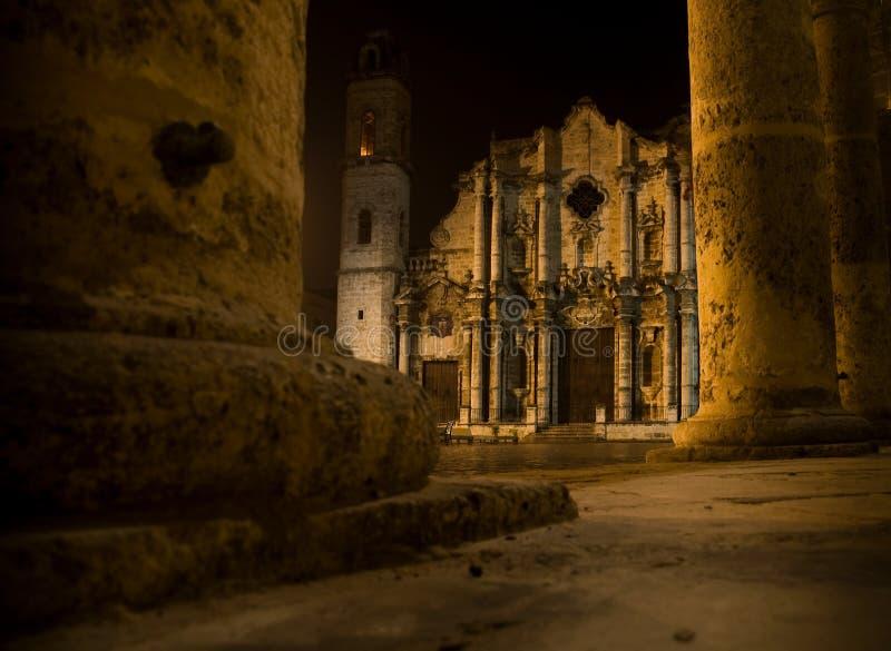 Cattedrale di Christopher santo in La Avana. immagine stock libera da diritti