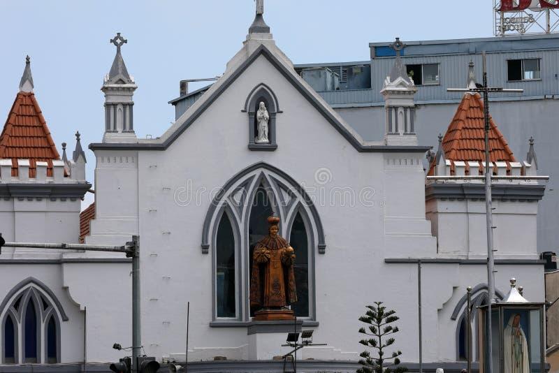 Cattedrale di Colombo nello Sri Lanka immagini stock libere da diritti